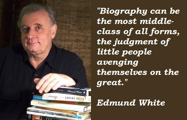 Edmund White's quote #1