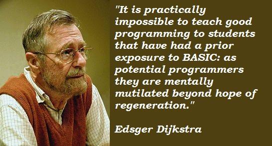 Edsger Dijkstra's quote #2