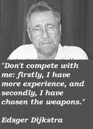 Edsger Dijkstra's quote #3