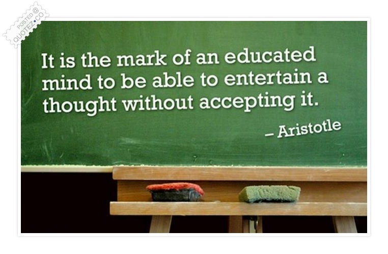 Educated quote #2