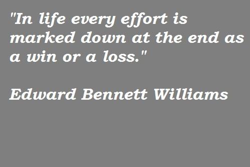 Edward Bennett Williams's quote #4