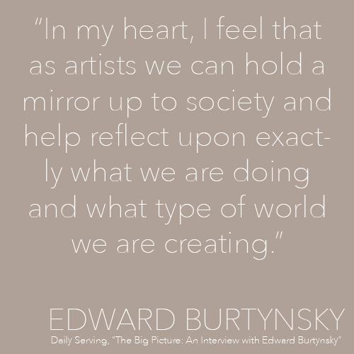 Edward Burtynsky's quote #2