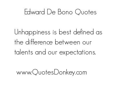 Edward de Bono's quote #3