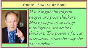 Edward de Bono's quote #4