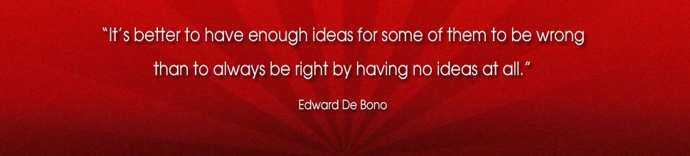 Edward de Bono's quote #7