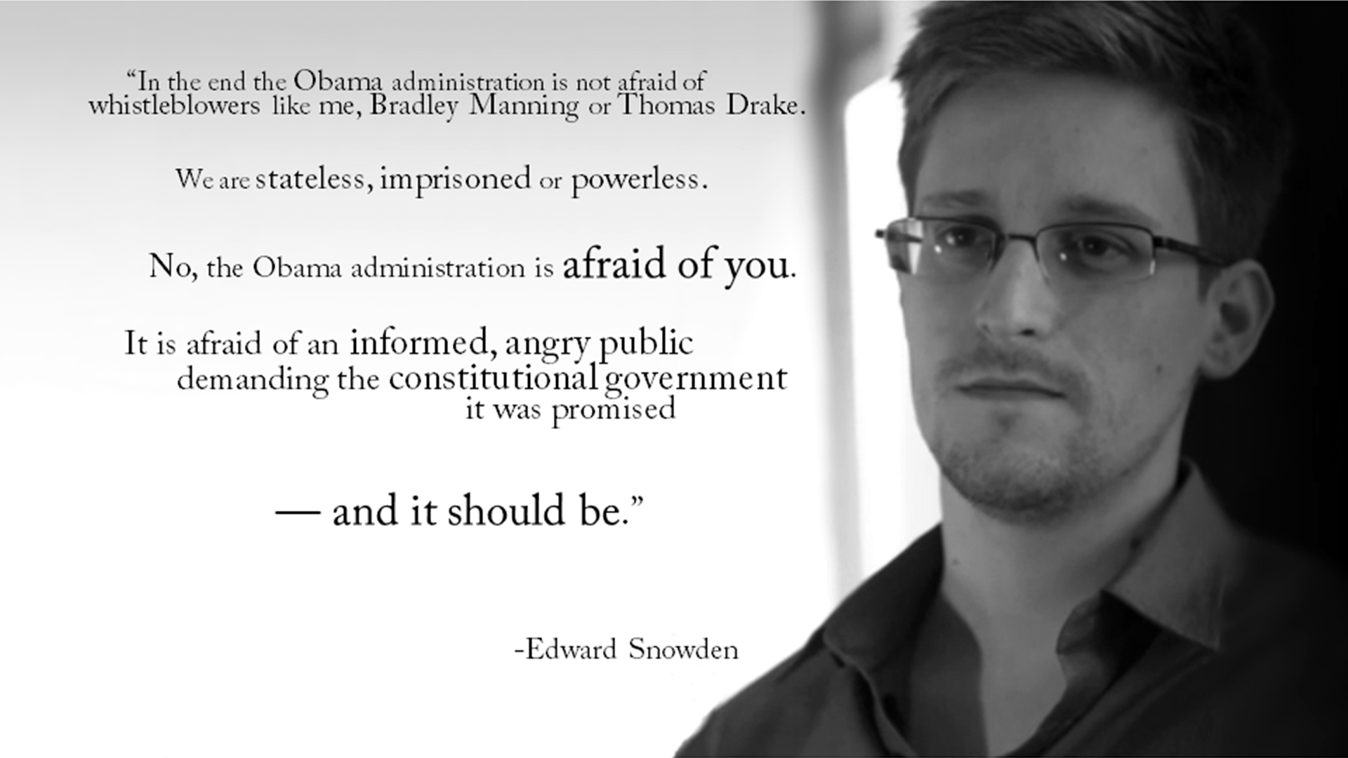 Edward Snowden's quote #8