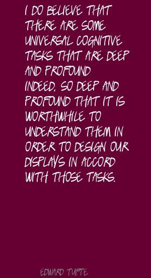 Edward Tufte's quote #7