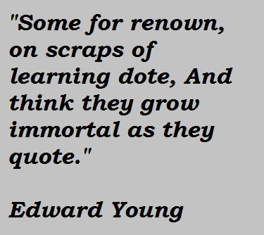 Edward Young's quote #5