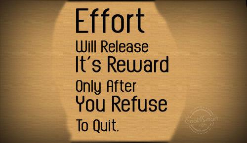 Effort quote #2