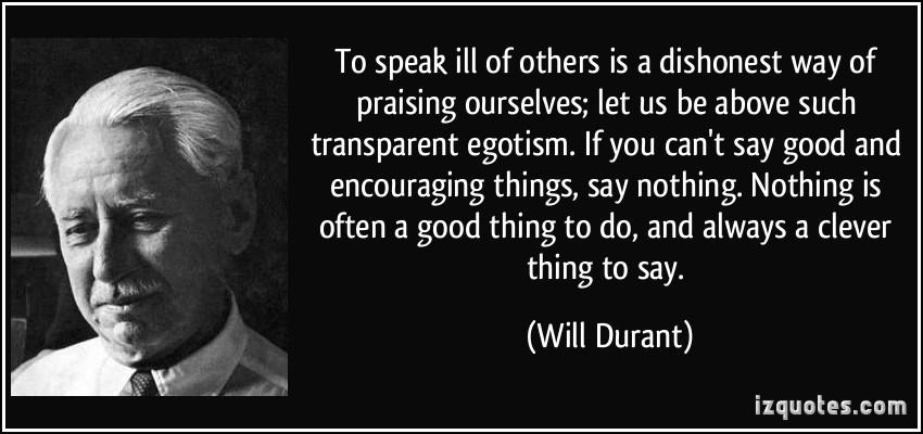 Egotism quote #2