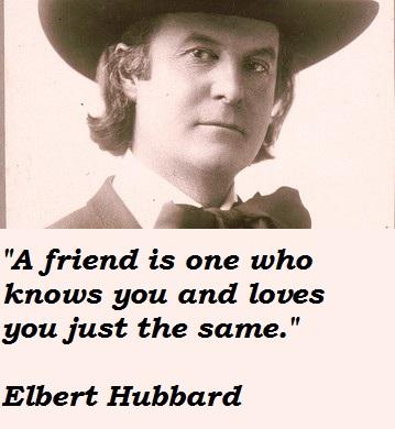 Elbert Hubbard's quote #8