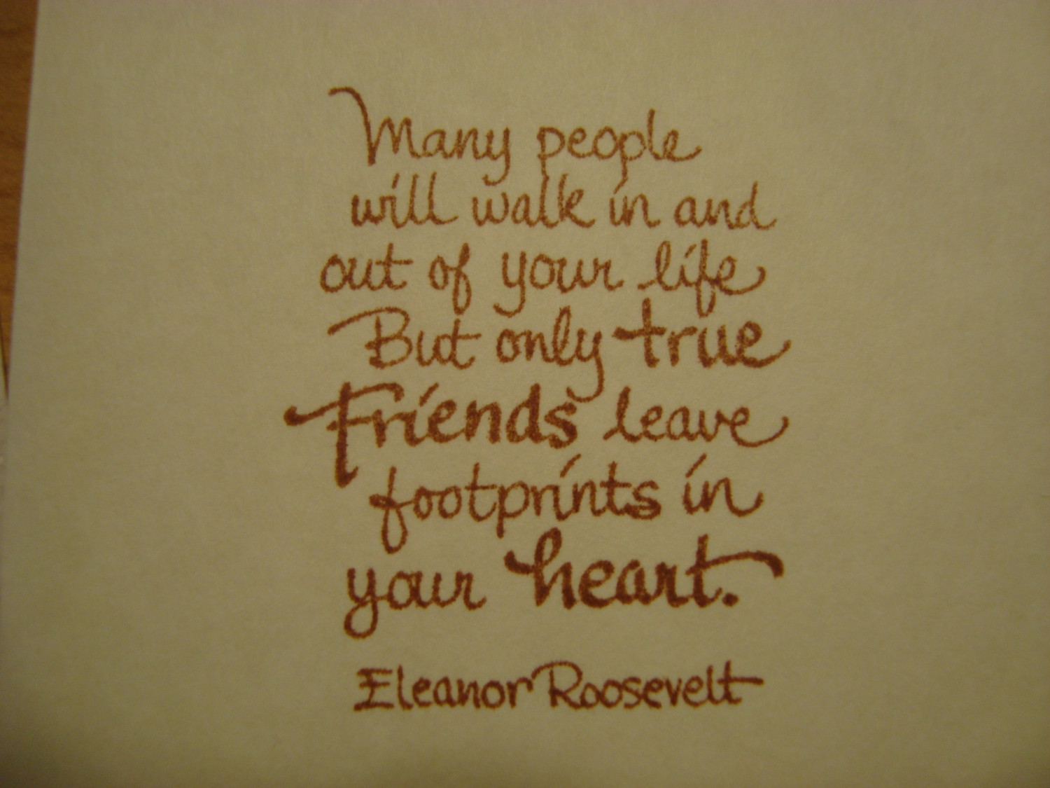 Eleanor Roosevelt quote #2