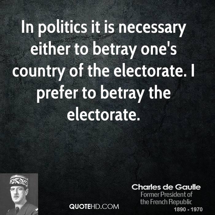 Electorate quote #1