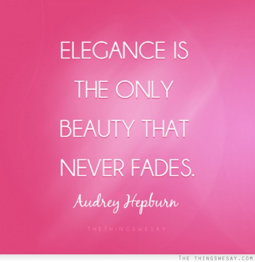 Elegance quote #2