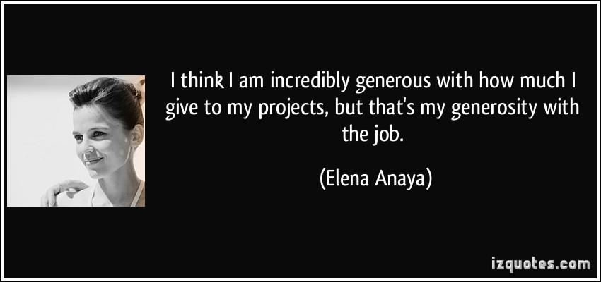 Elena Anaya's quote #2