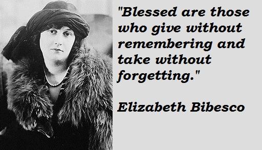 Elizabeth Bibesco's quote #1