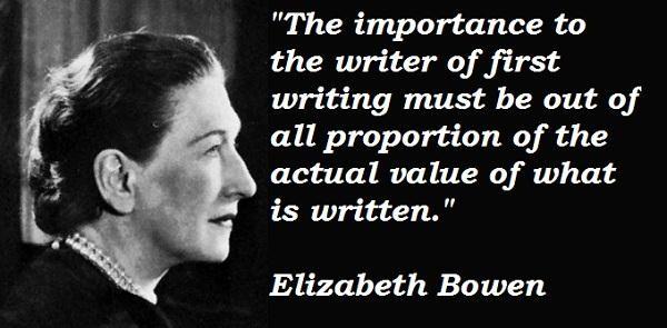 Elizabeth Bowen's quote #3