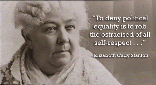 Elizabeth Cady Stanton's quote #8