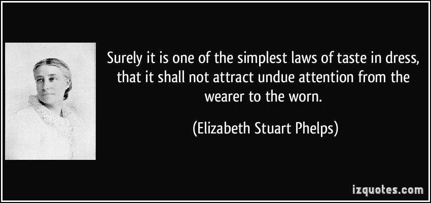 Elizabeth Stuart Phelps's quote