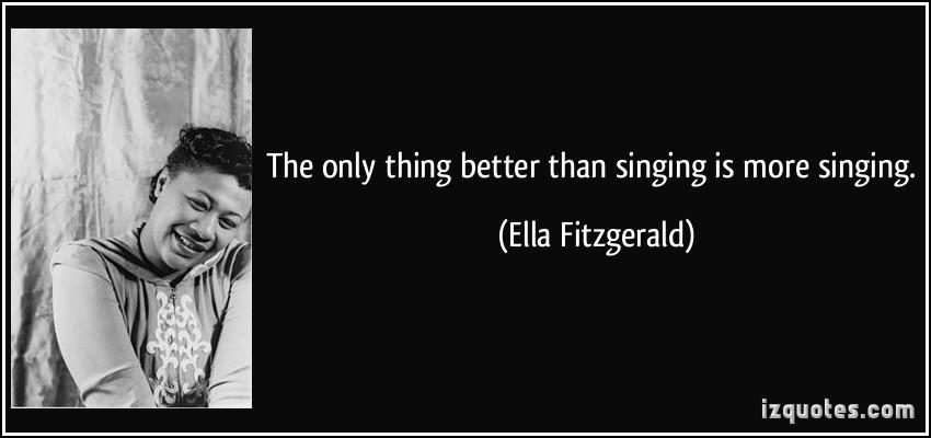 Ella Fitzgerald quote #1