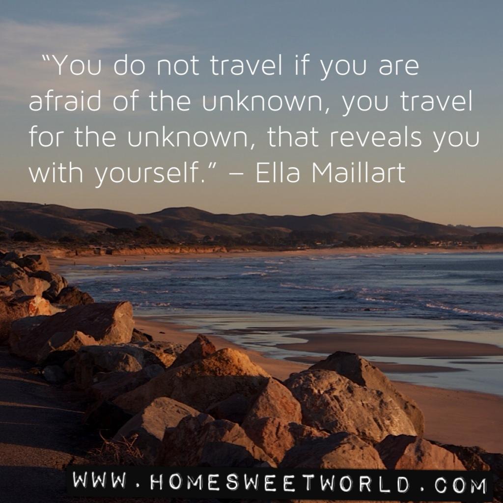 Ella Maillart's quote #2