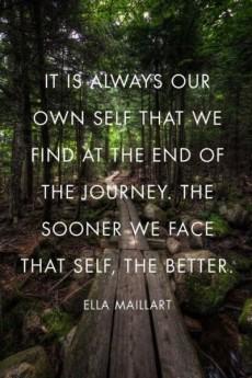 Ella Maillart's quote #5