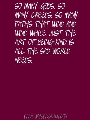 Ella Wheeler Wilcox's quote #4