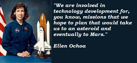 Ellen Ochoa's quote #5