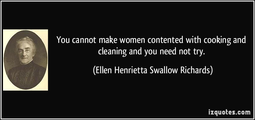 Ellen Swallow Richards's quote #3