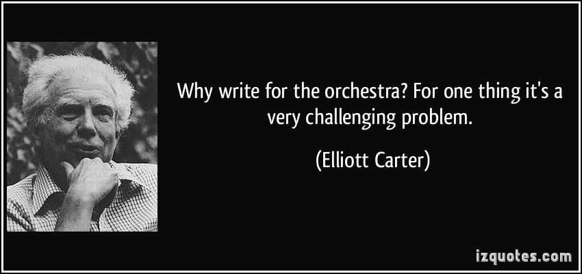 Elliott Carter's quote #3