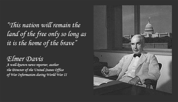 Elmer Davis's quote #3