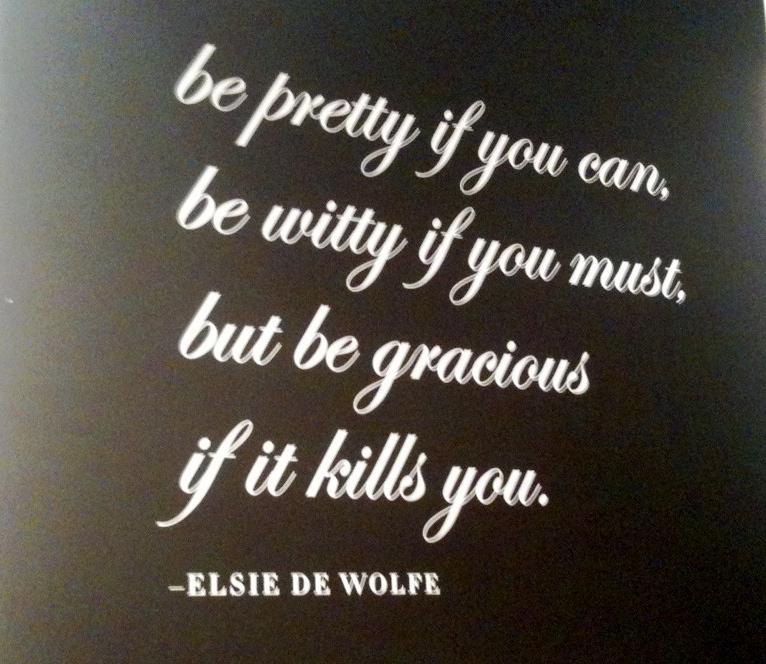 Elsie de Wolfe's quote #1