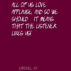 Emanuel Ax's quote #3
