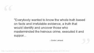 Emile Lahoud's quote #2