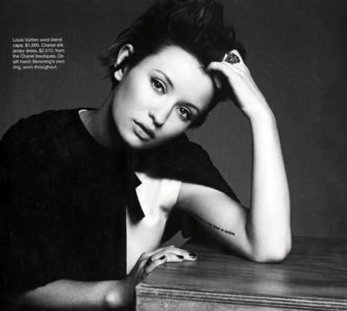 Emily Browning's quote