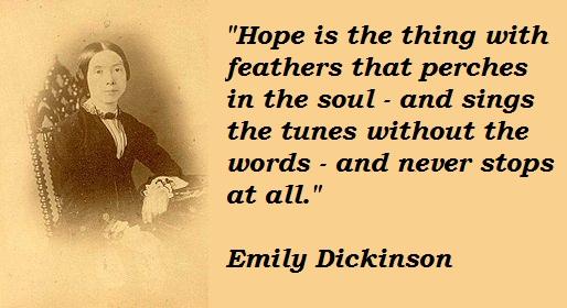 Emily Dickinson's quote #6