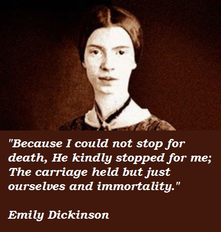 Emily Dickinson's quote #4