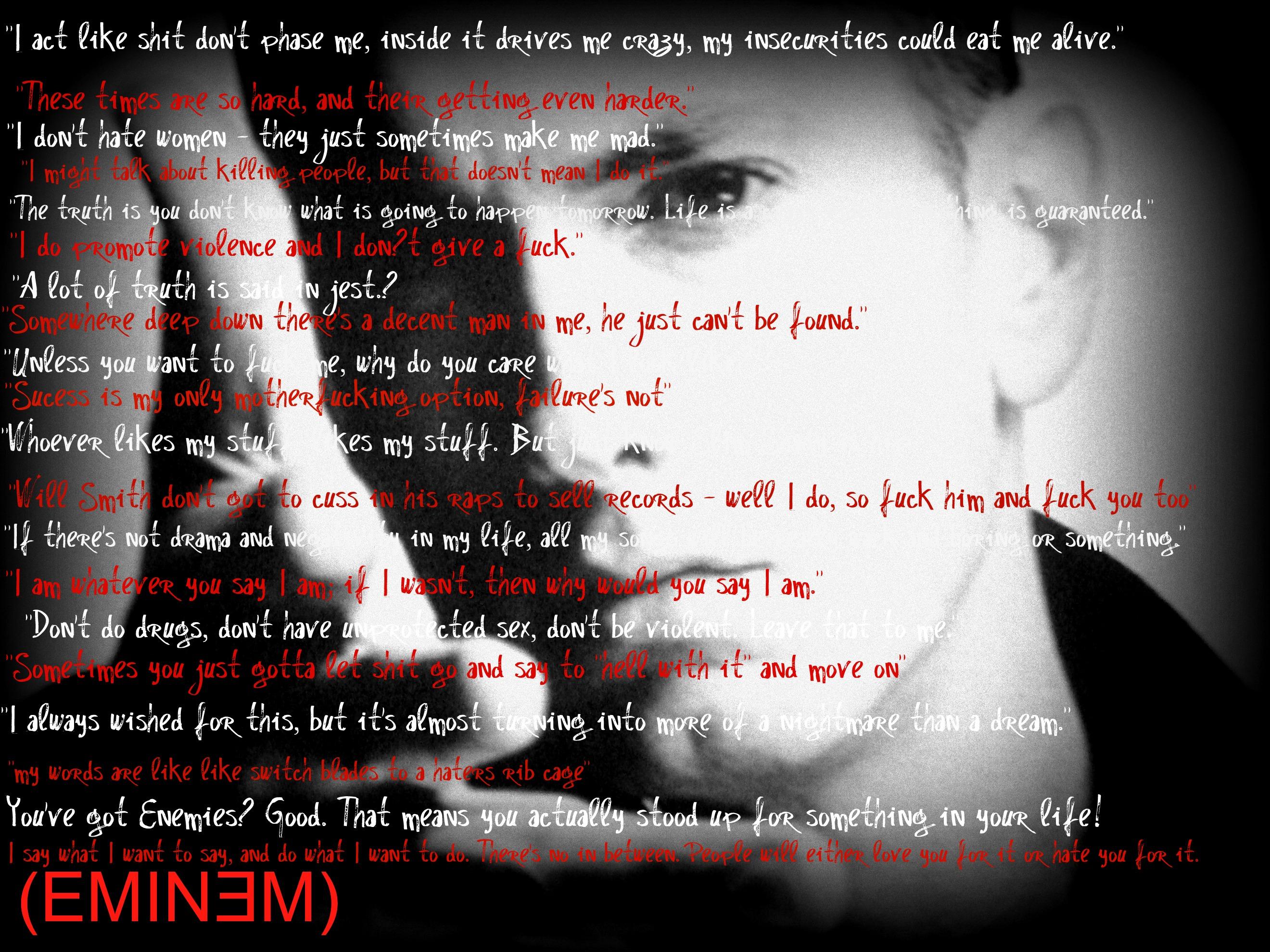 Eminem quote #1