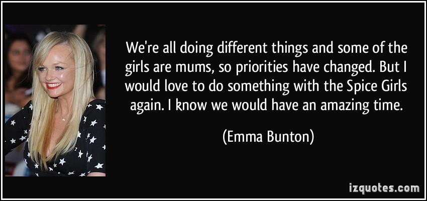 Emma Bunton's quote #3