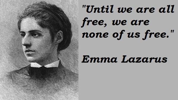 Emma Lazarus's quote #1