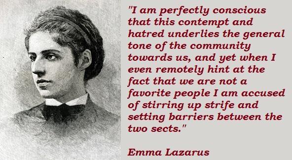 Emma Lazarus's quote #4