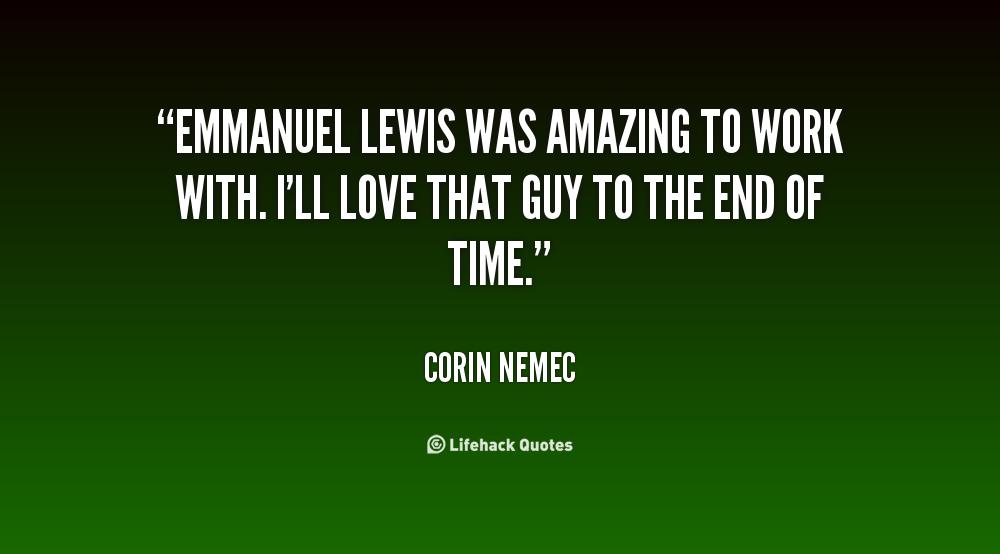 Emmanuel Lewis's quote #2
