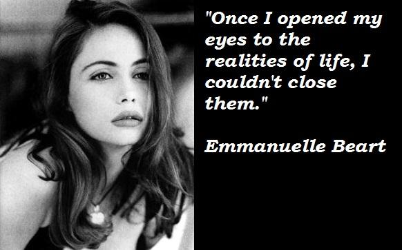 Emmanuelle Beart's quote #1