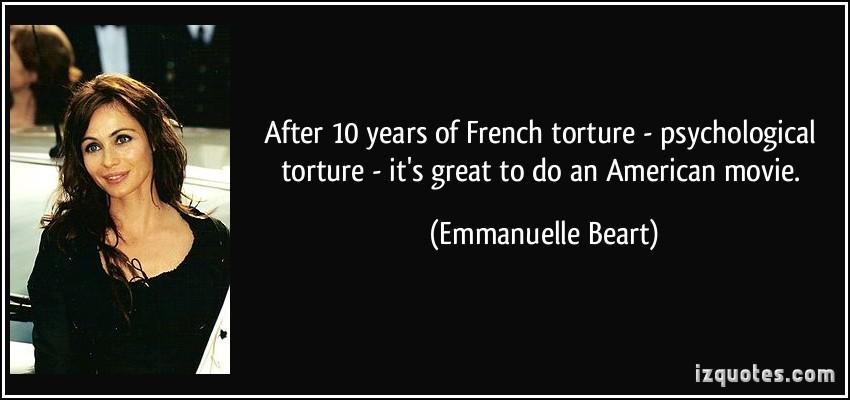 Emmanuelle Beart's quote #2