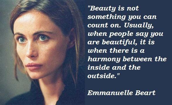 Emmanuelle Beart's quote #3