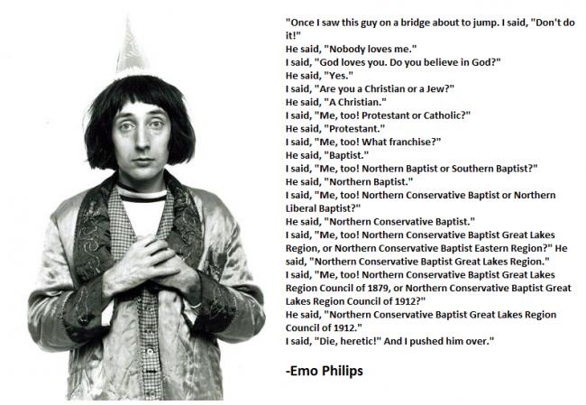 Emo Philips's quote #7
