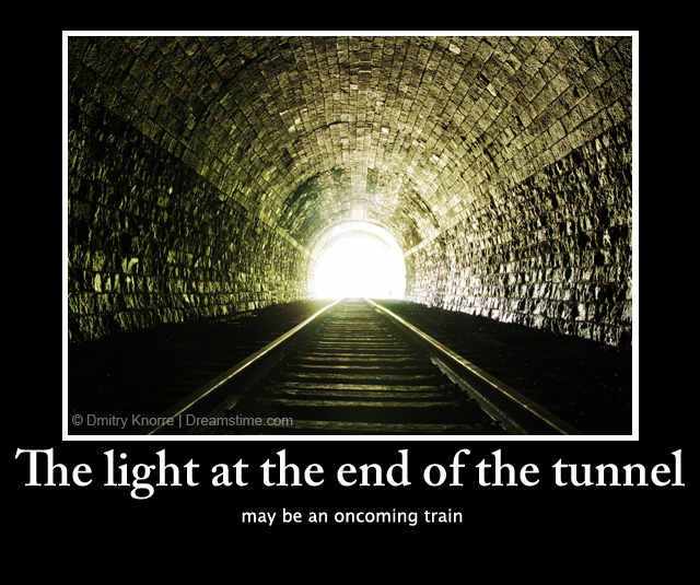 End Of The Tunnel quote #1