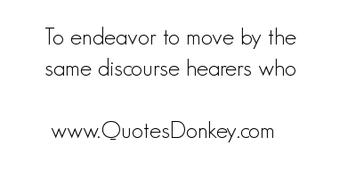 Endeavor quote #1