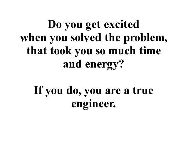 Engineer quote #6