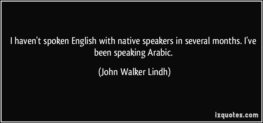 English-Speaking quote #2